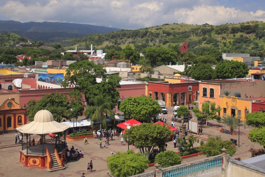 The town of Tequila, Mexico.